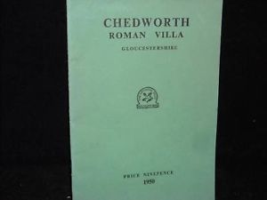 1950 booklet chedworth roman villa gloucestershire