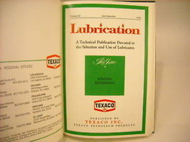 1974,75,76 Hardcover Monthly Periodicals- Lubrication