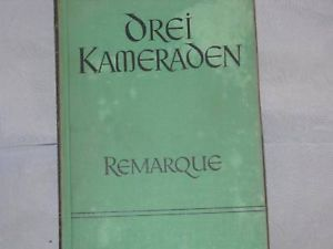 1957 Drei Kamerden German Text Book Waldo C. Peebles