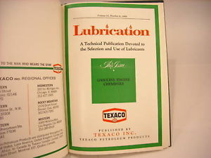 1969 Hardcover Bound Monthly Periodicals- Lubrication