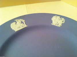 1957 Wedgwood Jasperware Set - Large and small blue plate set image 2