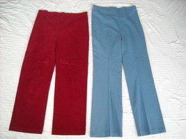 2 Pairs of Maternity Pants Small Olian image 1