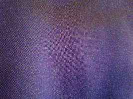2 PC Blue Violet Open Vest Skirt Set Graff Californiawear Vest SZ  L Skirt SZ M image 5