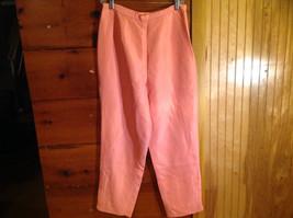2 Piece Pink Orange Sleeveless Shirt and Pant Set David Warren New York Size 12 image 5