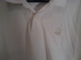 100 Percent White IZOD Short Sleeve Polo Shirt Size Large image 2