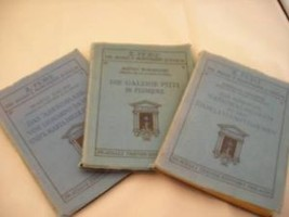 3 Antique German booklets Il Fiore Italian Art Series