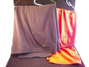 2 pairs of women's size 22W pants red and black