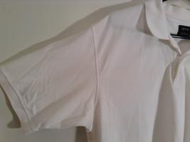 100 Percent White IZOD Short Sleeve Polo Shirt Size Large image 4