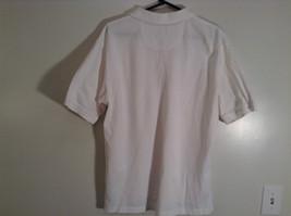 100 Percent White IZOD Short Sleeve Polo Shirt Size Large image 6