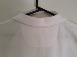 100 Percent White IZOD Short Sleeve Polo Shirt Size Large image 5