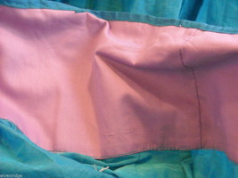 3 Piece Blue, Pink, and Purple Indian Gopi Skirt Set with Scarf image 6