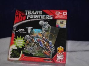 3D Transformers Glow in the Dark Puzzle