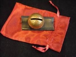 #4 Brass color Sleigh bell