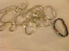 4 steampunk micro mini silver square metal element shiny dull mobile bracelet image 2