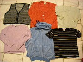 6 pieces Women's Clothing Knit tops size small petite Ann Taylor Talbots Bristol image 1