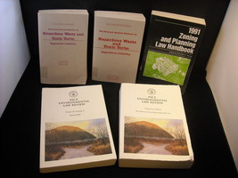 5 Paperback Environmental Books Law Review books