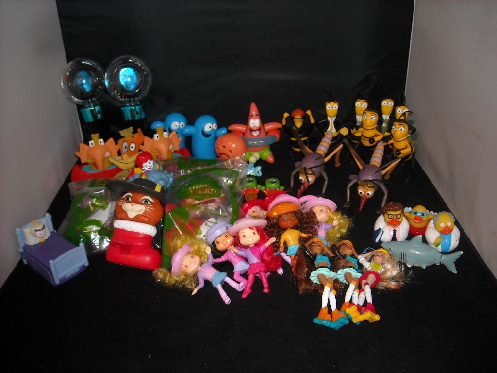 A lot of Misc. Children's toys