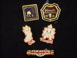 5 cat Related Disney Collectible Official Trading Pins