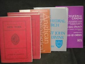 6 Paperback Religious Christian Books and postcards