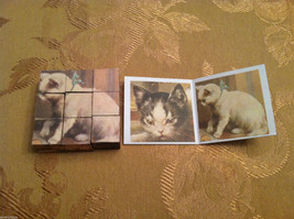 6 Sided Cube Vintage Church Puzzle - Cat and Dog Themed image 6