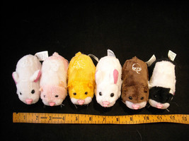 6 Battery Operated Zhu Zhu pets with Habitat included image 6