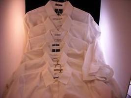 7 White Shirts 18 35 3X Beene Heusen Strathmore Botany
