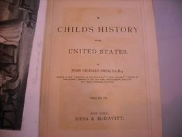 A Child's History of United States 1872 w engravings Volume III