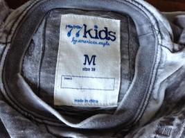 77 Kids by American Eagle Size M 10 Gray White Long Sleeve Sweatshirt image 6