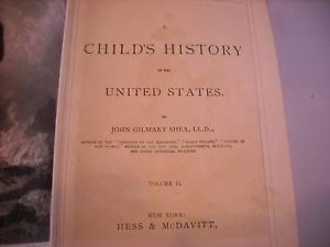 A Child's History of the United Stats Vol. 2 1872 book