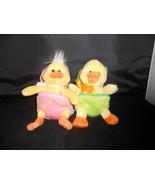 A pair of Plush Ducks in their eggs - $39.99