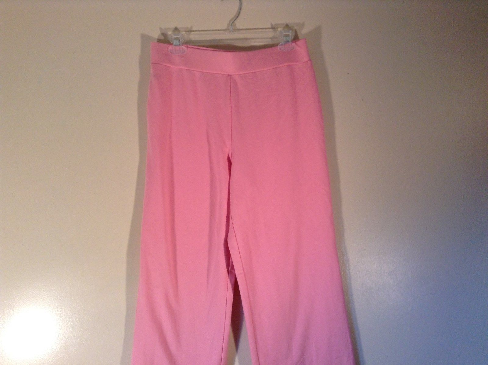 AK Anne Klein Sport Pink Sweat Pants Stretchy Size Medium