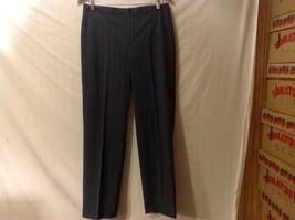 APT 9 Womens Gray Pinstriped Pants, Size 12. image 1