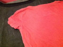 Abercrombie & Fitch short sleeve color maroon image 8