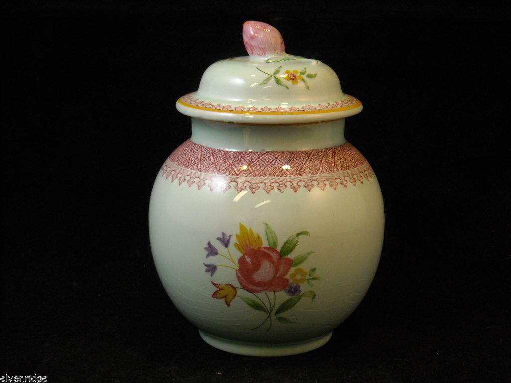 Adams Lowestoft Sugar Bowl vintage piece pattern 2087