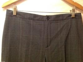 APT 9 Womens Gray Pinstriped Pants, Size 12. image 5