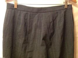 APT 9 Womens Gray Pinstriped Pants, Size 12. image 6