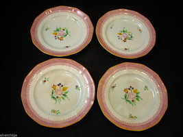 Adams original issue  Lowestoft  small bread plates CalyxWare Ironstone