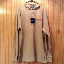 Adams Fair Acre Farms Light Brown Long Sleeve Shirt Size XL NEW with Tag