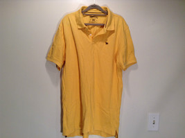 Aeropostale Size XL Short Sleeve Yellow Polo Shirt 100 Percent Cotton - $24.74