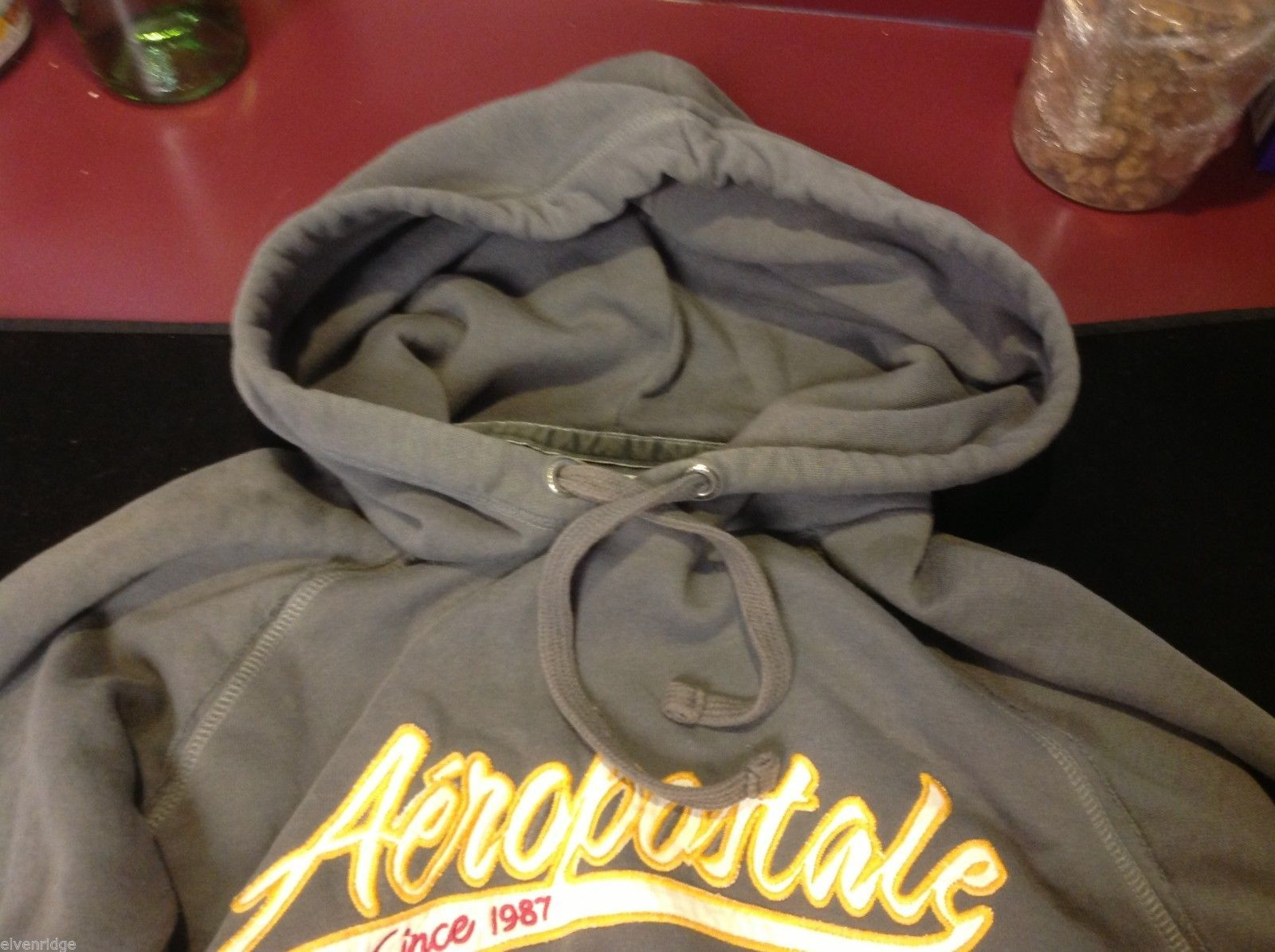 Aéropostale hoodie in large gray