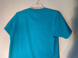Aeropostale in White Letters on Green Short Sleeve T-Shirt Plain Back Size Small image 4