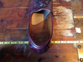 Alden Leather Tassel Loafer Burgundy Shoes Made in USA Doe Tail Heel Size 9 image 10
