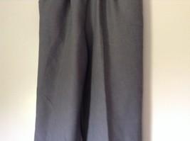 Alfred Dunner Light Gray Dress Pants Elastic Waistband Size 10 image 3