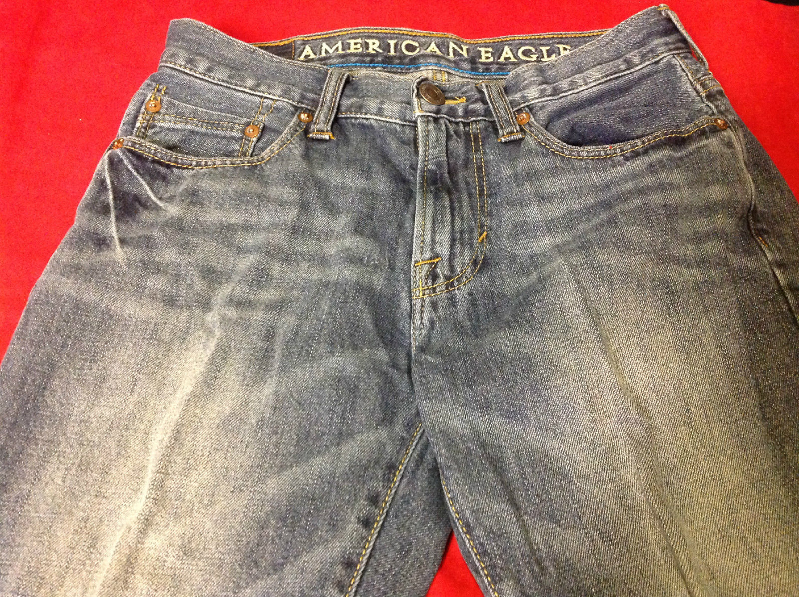 American Eagle Outfitters Dark Denim Jeans Size 28 x 30