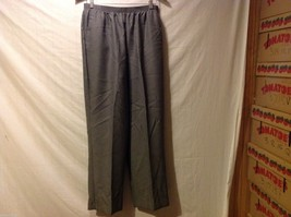 Alfred Dunner Womans Gray Pants, Size 14