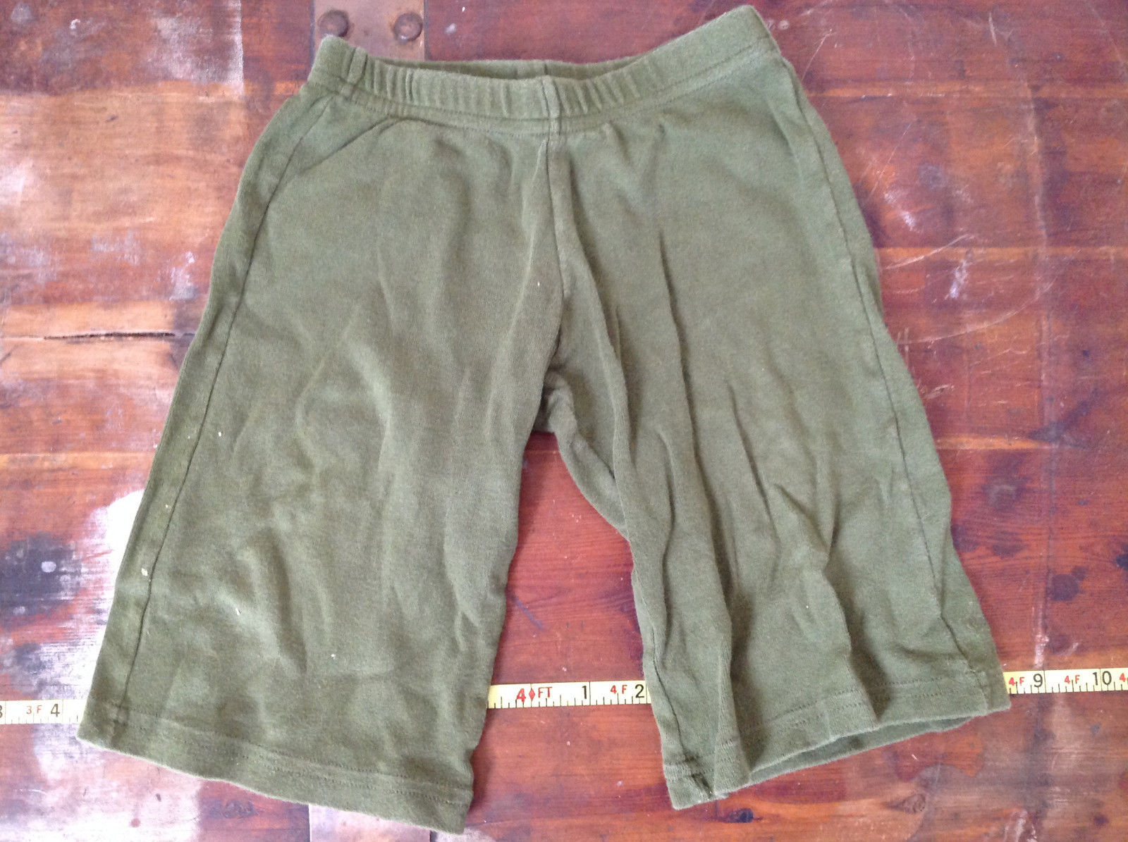 American Apparel Cute Infant Green Elastic Waist Pants Size 12 to 18 Months