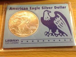 American Eagle Silver Dollar Littleton Coin 1998 1 ounce fine silver uncirc