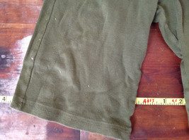 American Apparel Cute Infant Green Elastic Waist Pants Size 12 to 18 Months image 3