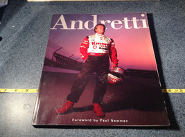 Andretti Racecar Driver and Record Breaker Book Photos 120 Pages Good Condition