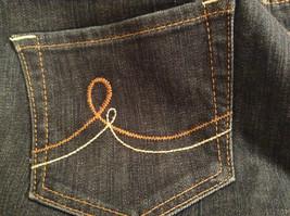 Ann Taylor LOFT Original Dark Blue Jeans Boot Cut Low Rise Size 2 image 8